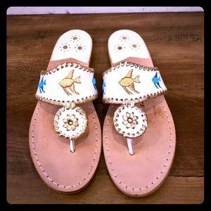 ❤️RARE!❤️ Jack Rogers Fish Sandals